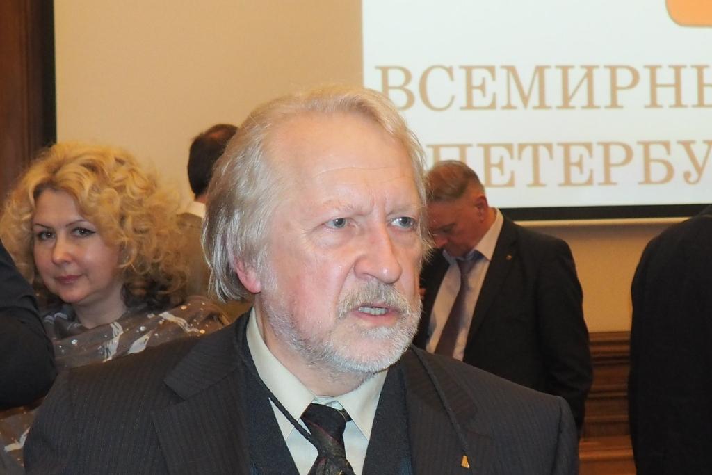 В зале Государственного Совета Эрмитажа на Дворцовая наб., 34 прошло заседание «Круглого стола по эстетике городской среды».