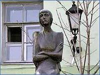 Парк современной скульптуры во дворе Филологического факультета СПбГУ
