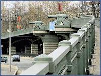 Эстакада Ушаковской транспортной развязки
