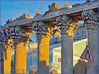 Снос исторических зданий в целях обеспечения нового строительства в центре Санкт-Петербурга