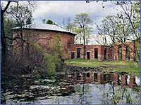 Баболовский дворец и «Царь-ванна»