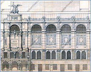Появился сайт с архивными чертежами и фотографиями знаменитых зданий Петербурга