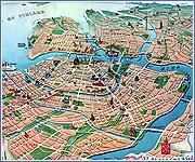 Небесная линия города над Невой