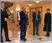Встреча Дипломатического клуба Санкт-Петербурга и Всемирного клуба петербуржцев.