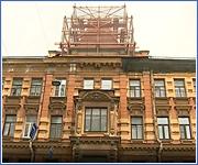 Сохраняя исторический облик: в Адмиралтейском районе проходит капремонт дореволюционных домов